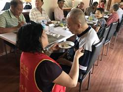 華山東港十週年 孤老歡慶父親節