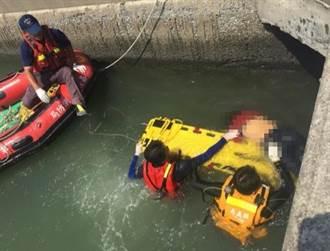 布袋鎮好美里出海口 發現女性浮屍
