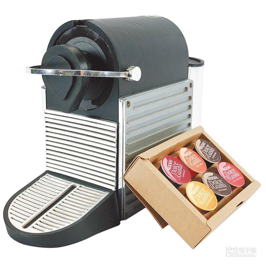蝦皮購物的希望摯尚紙紮膠囊咖啡機,特價3600元。(蝦皮購物提供)