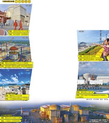 陸6大核電站 下月開放民眾參觀