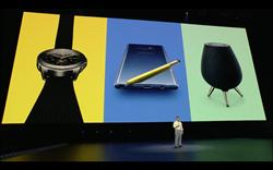 三星Galaxy Note 9、Galaxy Watch同步發表 同場加映全新Galaxy Home智慧音箱登場