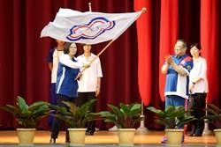 亞運》蔡總統南下授旗 用這三位選手來勉勵