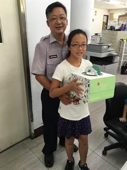參訪派出所  小學生讓「警察爸爸好感動!」