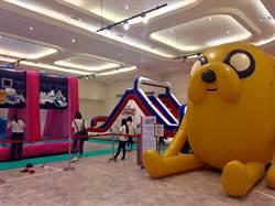 卡通夏日嘉年華 新光三越南西店打造親子樂園