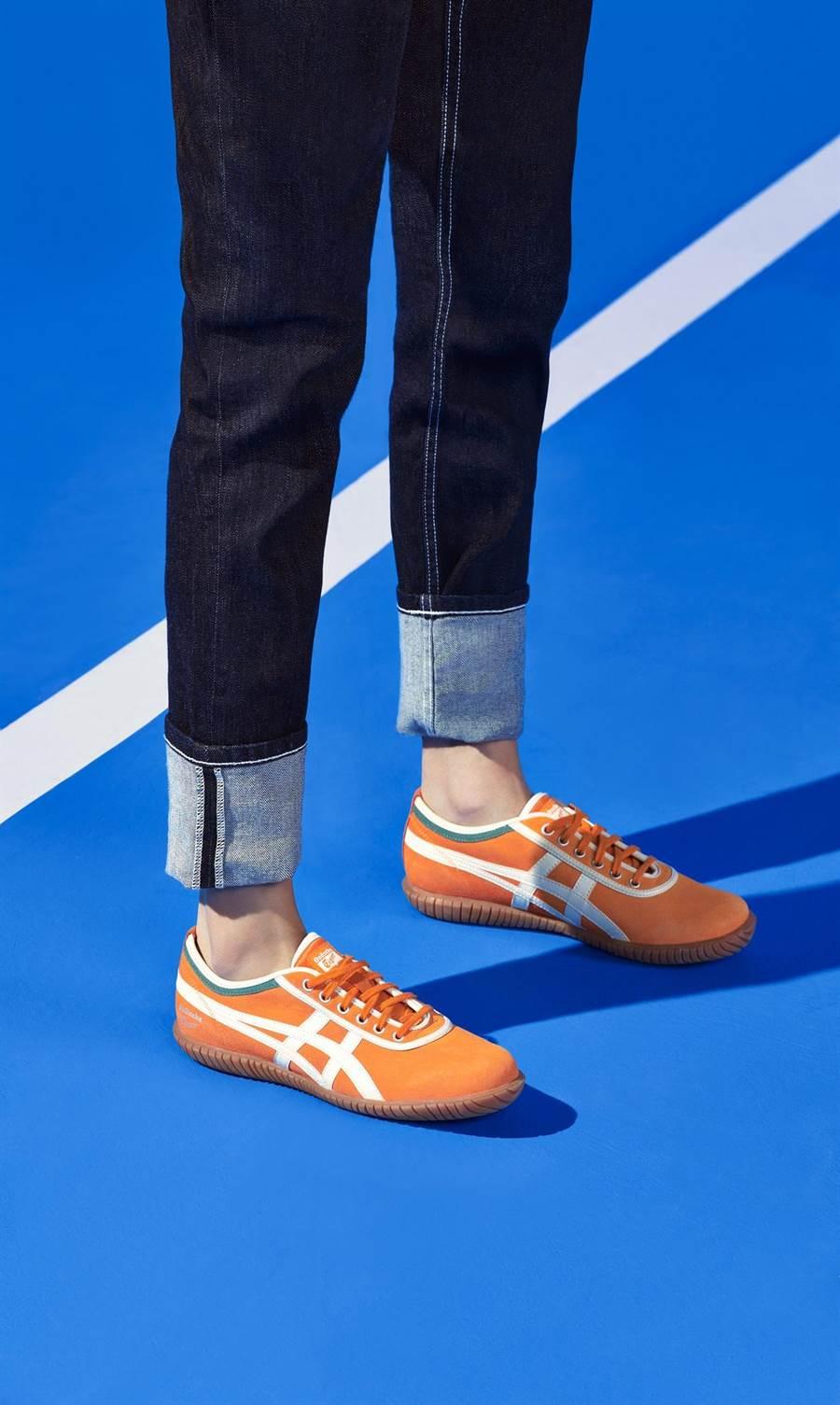 Onitsuka Tiger Tsunahiki拔河鞋系列,原汁原味的復古风潮,成为今夏瞩目焦点,2500元。(品牌提供)