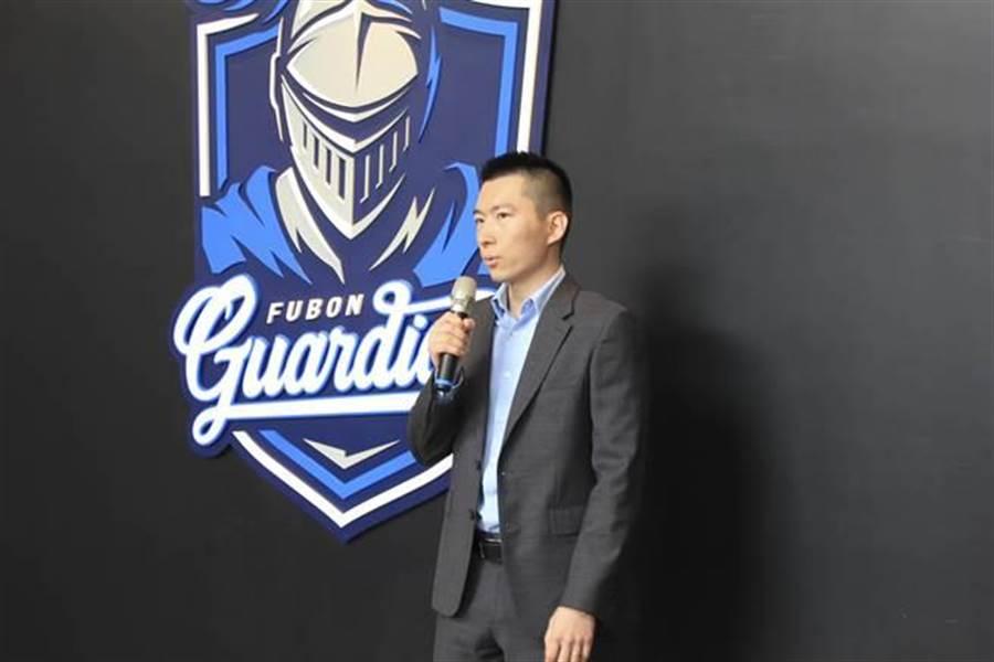 富邦悍將領隊蔡承儒(中時電子報資料照)
