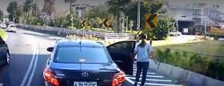 女子國1閘道口下車 與駕駛恐依法遭罰