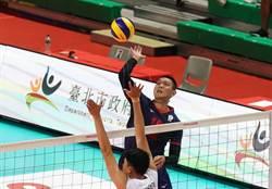亞洲盃男排》125分鐘激戰!中華5局大戰逆轉勝泰國