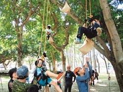 都市小泰山 學專業級攀樹
