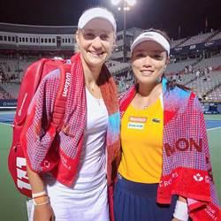 羅傑斯盃網賽》詹詠然女雙晉決賽 重返世界第一
