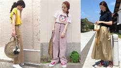 好想學起來的帆布鞋穿搭術!看日本女生如何用6色變換風格