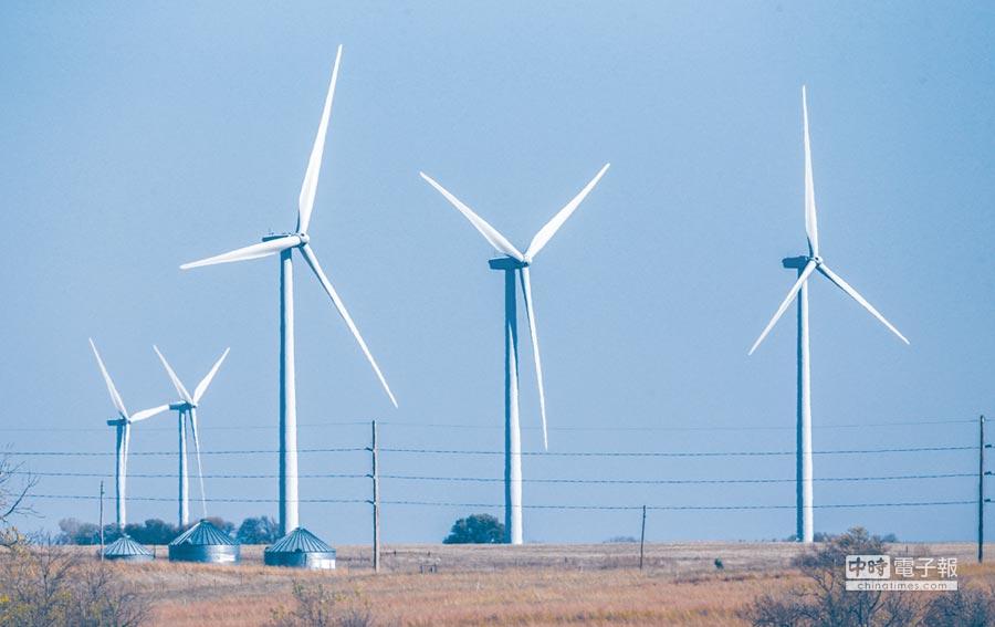 風力發電圖/美聯社