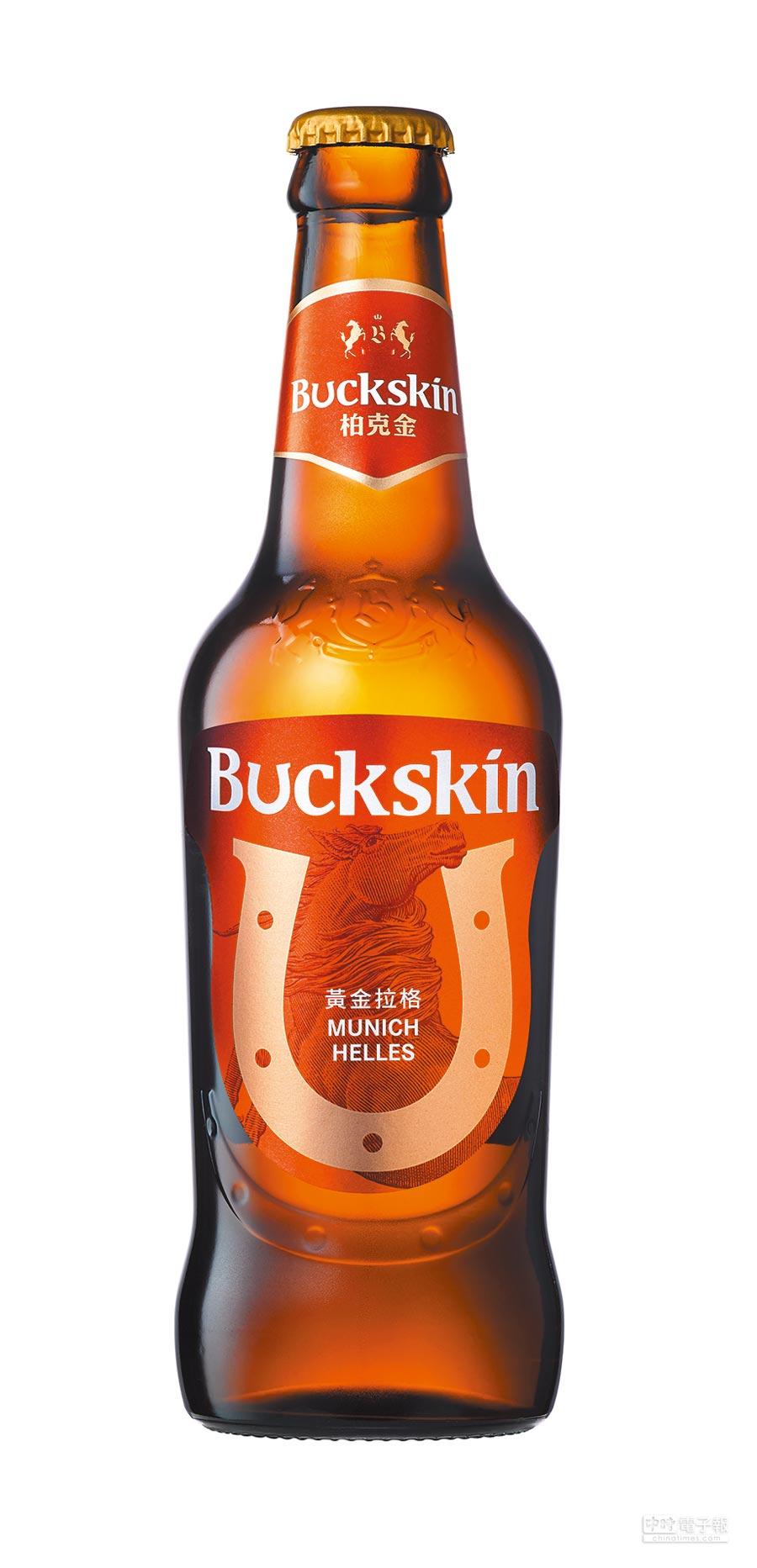 柏克金黃金拉格啤酒玻璃瓶裝,建議售價58元。