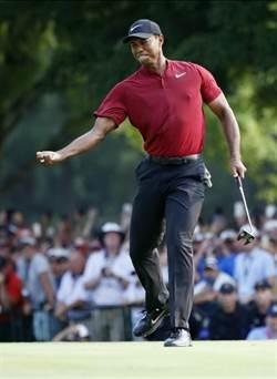 影》老虎伍茲再發威 PGA錦標賽摘亞軍