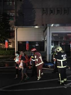 台北醫院大火 病患目擊氧氣瓶爆炸 印尼看護:馬達噴火花