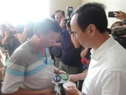 台北醫院罹難者相驗 朱立倫到場慰問家屬