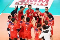 亞洲盃男排》又是逆轉秀!中華勝哈薩克晉4強