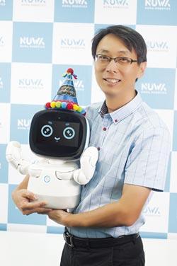 女媧創造AI機器人 10月在台上市
