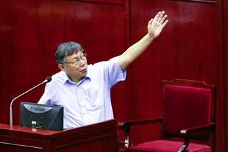 韓國瑜遊走北高打選戰 柯P:北高大都會需文宣戰