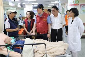 台北醫院9死15傷火警 新北副市長李四川致贈慰問金