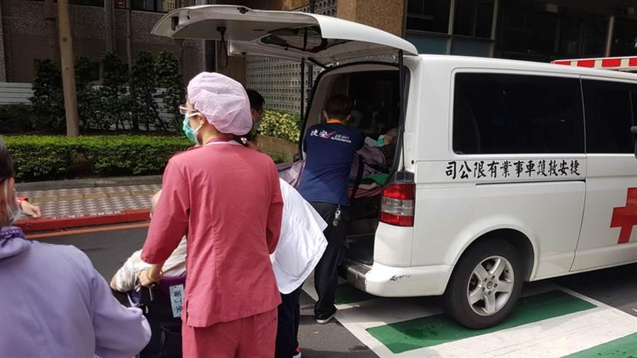 亞東醫院搶救的5名患者均倖存。(中央社)