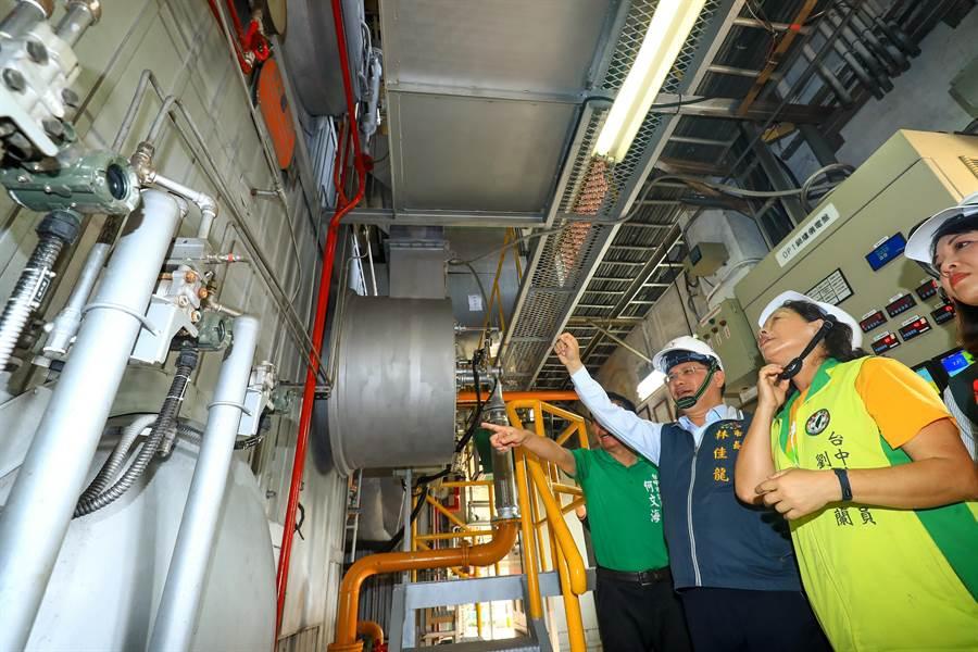 台中市大小鍋爐共計900餘座,目前已完工改燃氣鍋爐300餘座。(盧金足攝)