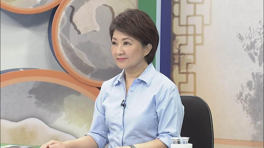 國民黨籍台中市長參選人盧秀燕。(圖/中天提供)