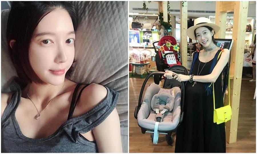 宋米秦日前還忙著張羅女兒的用品。(取材臉書)