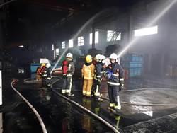 鑄造廠火警釀一傷  疑接錯管線引化學反應