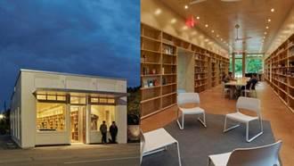 老舊百年銀行建築 改造成世界最美社區圖書館