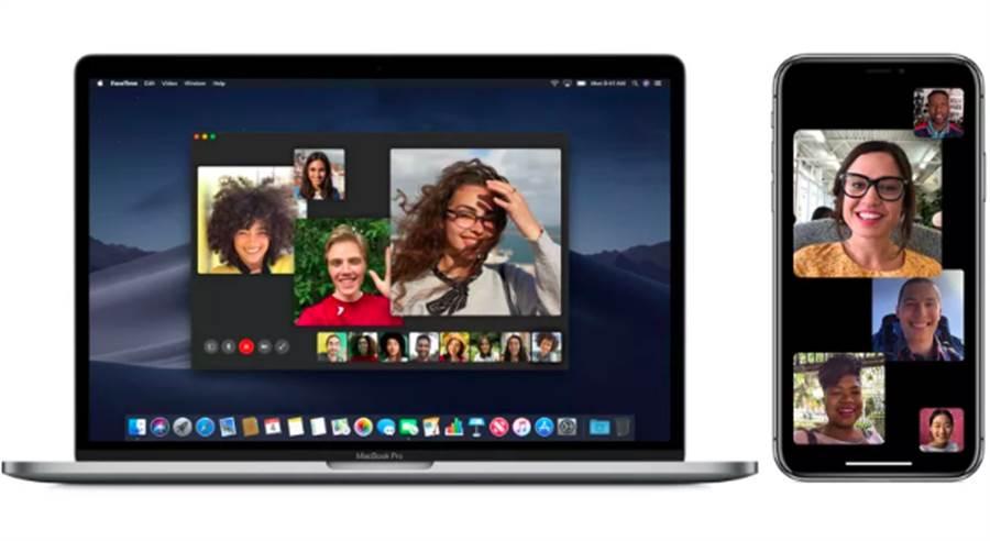 iOS 12主打的群組FaceTime功能確定延後推出。(圖/翻攝蘋果官網)