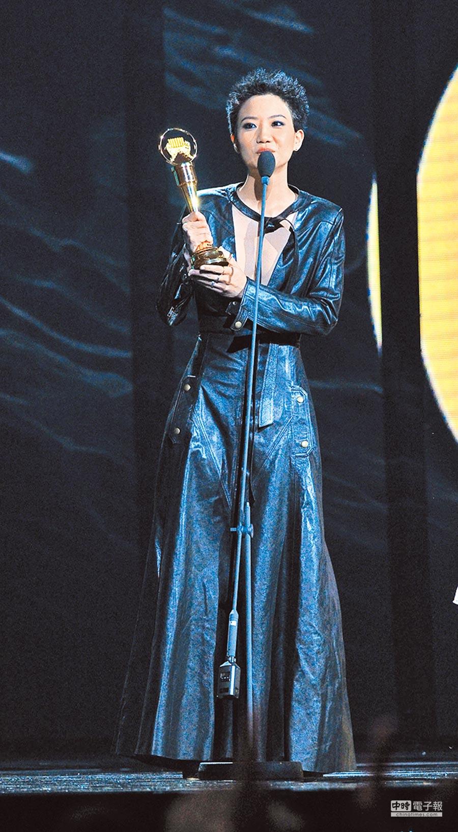 2017年盧凱彤以《還不夠遠》奪下金曲獎最佳編曲人獎。(本報系資料照片)