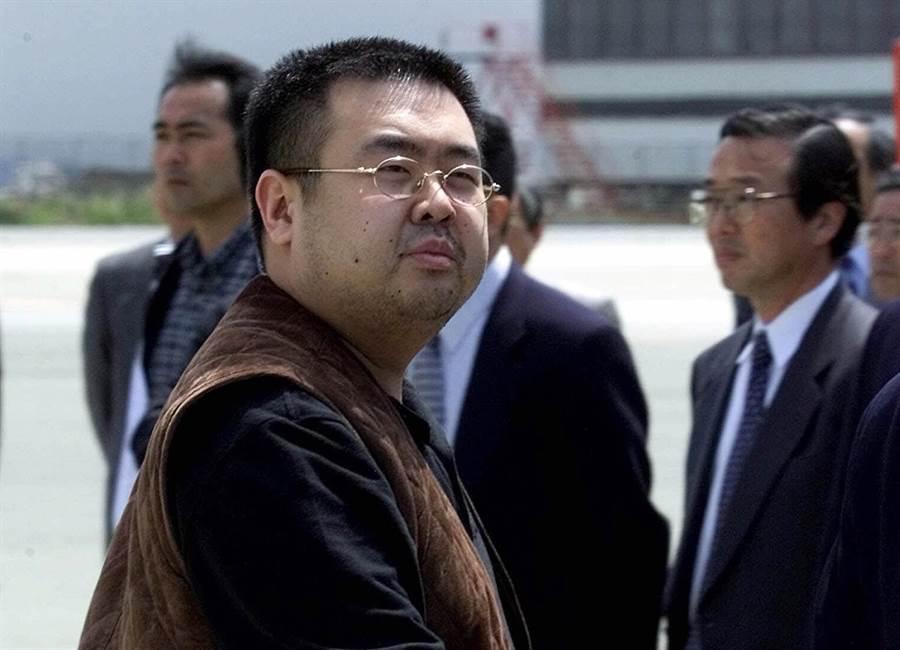 遭到毒杀的金正男,他是北韩首领金正恩的胞兄。(图/美联社)