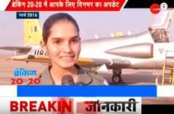 影》25歲超甜美!印度空軍首位MiG-21女飛行員