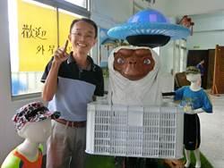 台南》世界最棒里長選市長 陳永和自比外星人找ET助陣