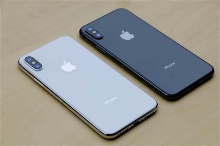 2017年iPhone X。(圖/黃慧雯攝)