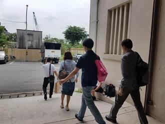 台北醫院火警》李循良遺體相驗  家屬快步離開