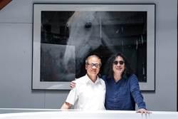 康台生拜會郭英聲聘請他為臺北攝影節顧問