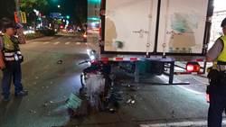 物流貨車紅線卸貨便利停 騎士高速撞上慘死