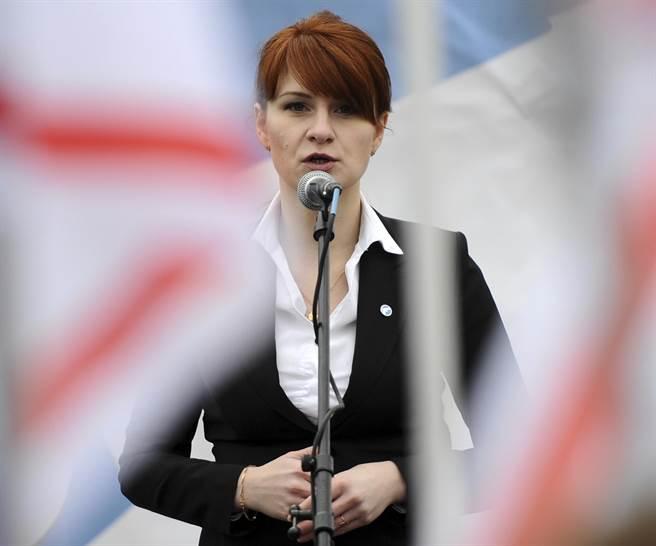 29歲俄羅斯美女布京娜是以學生身份留在美國,但與積極參與美國步槍協會的相關活動。(圖/美聯社)