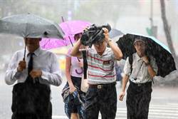 暴雨持續炸台! 氣象局:17縣市豪大雨特報