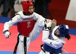 亞運》跆拳道女將蘇柏亞踢垮南韓選手 摘下中華單日第二金