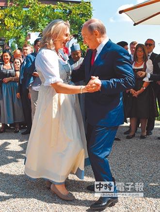 婚禮秀舞技 普丁獲滿堂彩