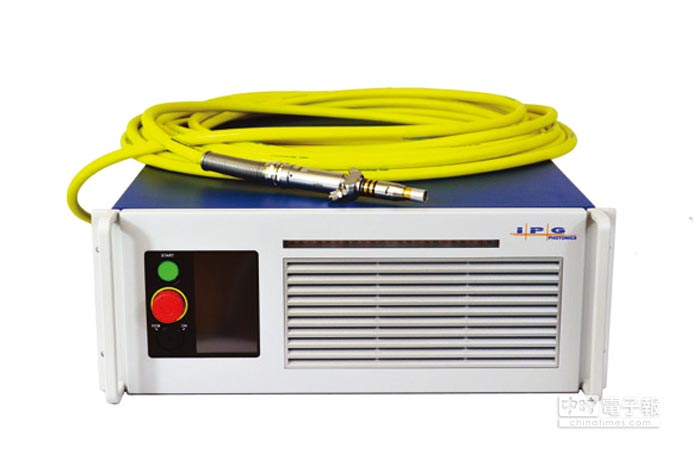 IPG YLR-500-MM-WC光纖雷射。圖/IPG提供