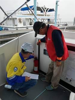 火燒船事件頻傳 航港局全面抽查載客船舶