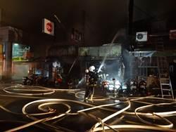 北市南昌路火警燒毀4店面 店主質疑案情不單純