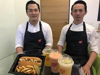 型男賣鹹酥雞「双」 用創意進軍台中