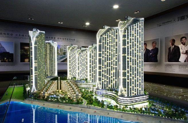 位於馬來西亞馬六甲的「亞昕喜來城」主打高投報旅遊地產。(亞昕喜來城提供)