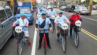 雲林》虎尾鎮長參選人丁學忠 提供30輛免費自行車漫遊虎尾