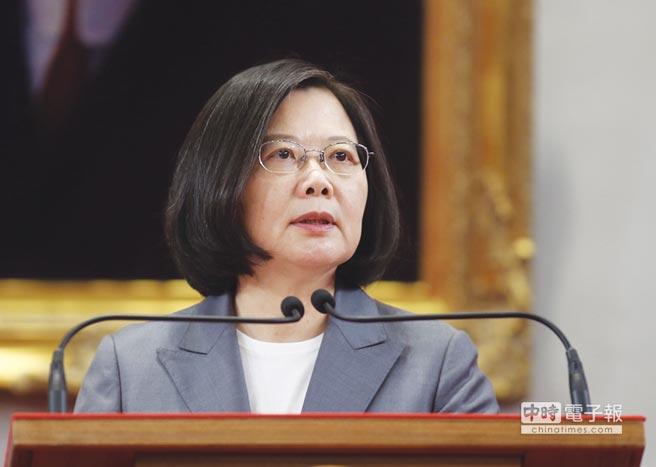 蔡英文總統 圖/中央社
